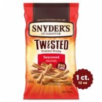 Snyder's of Hanover Onion Garlic & Pepper Seasoned Twisted Pretzel Sticks