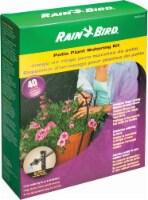 Rain Bird Patio Plant Watering Kit - 40 Piece - Black