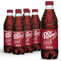 Dr Pepper Soda 6 Bottles
