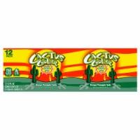 Cactus Cooler Orange Pineapple Blast Soda 12 Cans