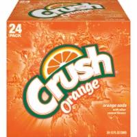 Orange Crush® Soda - 24 cans / 12 fl oz