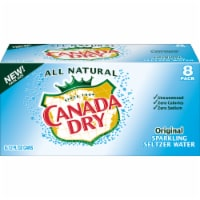 Canada Dry Original Sparkling Seltzer Water 8 Cans