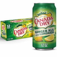 Canada Dry Ginger Ale and Lemonade Beverage