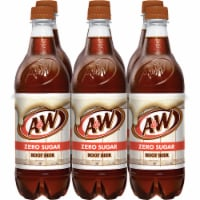 A&W Root Beer Zero Sugar Soda