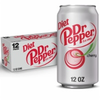 Diet Dr Pepper Cherry Soda
