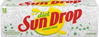 Sun Drop Diet Citrus Soda - 12 cans / 12 fl oz