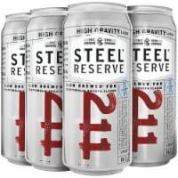 Steel Reserve High Gravity Lager Beer