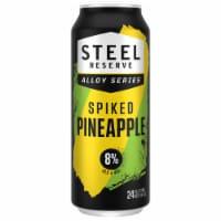 Steel Reserve Alloy Series Hard Pineapple Flavored Malt Beverage