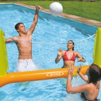 Intex 56508EP Inflatable Floating Swimming Pool Toys Volleyball Game, Green