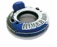 Intex River Run Inflatable Lounge - Blue/White/Black