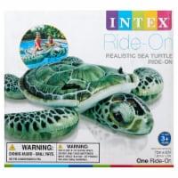 Intex Realistic Sea Turtle Ride-On - Green