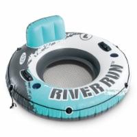 Intex River Run 1 Person Inflatable Floating Tube Lake Pool Ocean Raft, 53 Inch