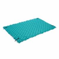 Intex 56841EP Giant Inflatable Floating Water Pool Lake Mat Platform Pad, Teal
