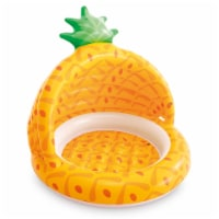 Intex 58414EP 40 Inch Pineapple Outdoor Baby Toddler Inflatable Swimming Pool - 1 Piece