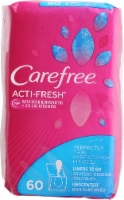 Carefree Body Shape Thin to Go Unscented Pantiliners