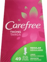 Carefree Regular Thong Liners