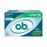 o.b. Super Tampons