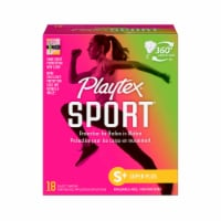 Playtex Sport Super Plus Unscented Plastic Tampons