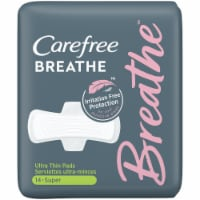 Carefree Breathe Super Ultra Thin Pads