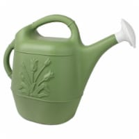 Union Products 63068 Plants & Garden 2 Gallon Plastic Watering Can, Sage Green - 1 Piece