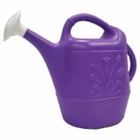 Union Products 63068 Indoor/Outdoor 2 Gallon Plastic Plant Watering Can, Purple - 1 Piece