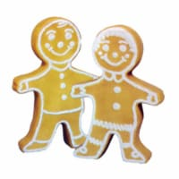 Union Products 75560 Outdoor Light Up Gingerbread Person Garden Decor Statue - 1 Piece