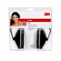 3M Protective Earmuffs - Black - 1 ct