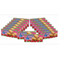 Strawberry Shortcake Rolls, 16 Boxes of 96 Individually Wrapped Fruit Filled Rolls - 96