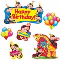 Monkey Mischief® Birthday Bulletin Board Set