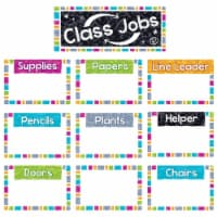 Color Harmony WipeOff® Class Jobs Mini Bulletin Board Set