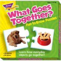 Trend What Goes Together Matching Puzzle Set - 3+ - 1