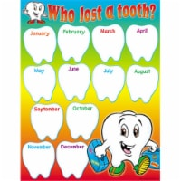 """Who Lost a Tooth? Learning Chart, 17"""" x 22"""" - 1"""