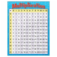 """Multiplication Learning Chart, 17"""" x 22"""" - 1"""