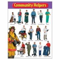"Community Helpers Learning Chart, 17"" x 22"" - 1"