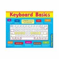 "Computer Keyboard Basics Learning Chart, 17"" x 22"" - 1"