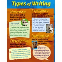 """Types of Writing Learning Chart, 17"""" x 22"""" - 1"""