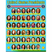 """United States Presidents Learning Chart, 17"""" x 22"""" - 1"""