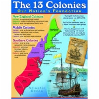 """13 Colonies Learning Chart, 17"""" x 22"""" - 1"""