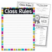 Class Rules Color Harmony™ Learning Chart, 17  x 22 - 1