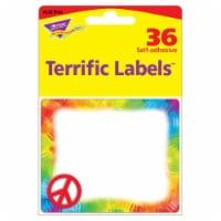Peace Sign Terrific Labels™, 360 Count