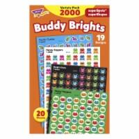 Trend Enterprises 1597431 Trend Buddy Brights Superspots & Super Shapes Varpk, Set of 2000