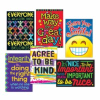 """ARGUS Poster Combo Pack, """"Kindness Matters"""", 13 3/8w x 19h TA67938"""