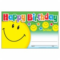 Happy Birthday Smile Recognition Awards, 30 ct - 1