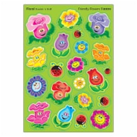 Friendly Flowers/Floral Mixed Shapes Stinky Stickers®, 84 Count