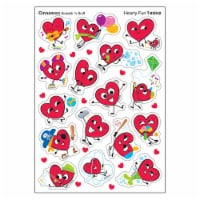 Hearty Fun/Cinnamon Mixed Shapes Stinky Stickers®, 64 Count - 1