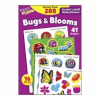 Trend Enterprises 1597424 Bugs & Blooms Stinky Stickers Variety Pack - Pack of 288