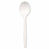 Plastic Cutlery Mediumweight Soup Spoons White 1,000 Per Each Carton | 1 Carton of: 1000