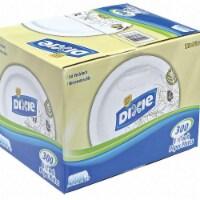 "Dixie Paper,Plate,Round,8-1/2"",Pathways,PK600 HAWA UX9PATHPB - 300"