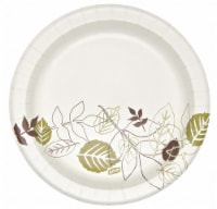 """Dixie Paper,Plate,Round,8-1/2"""",Pathways,PK500 HAWA UX9WS - Count of: 1"""