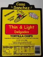 Casa Sanchez Thin & Light Tortilla Chips